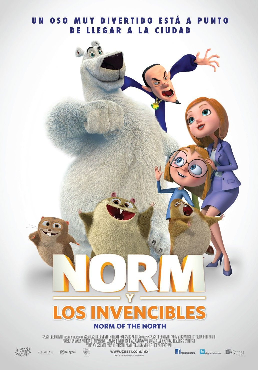 Return To The Main Poster Page For Norm Of The North With Images