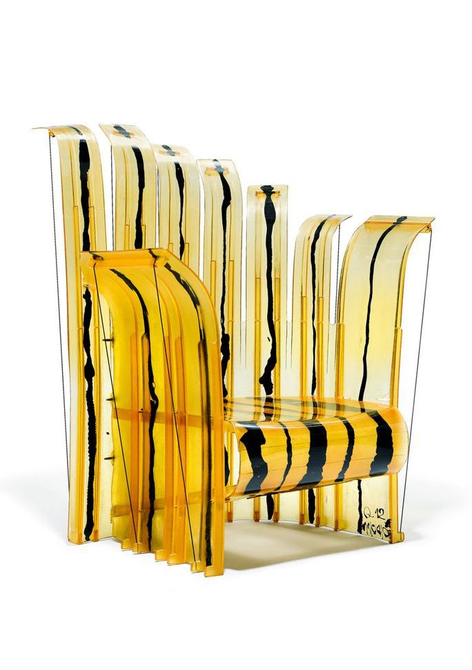 Gaetano Pesce, armchair Queen of Nobody from the series Nobody is ...