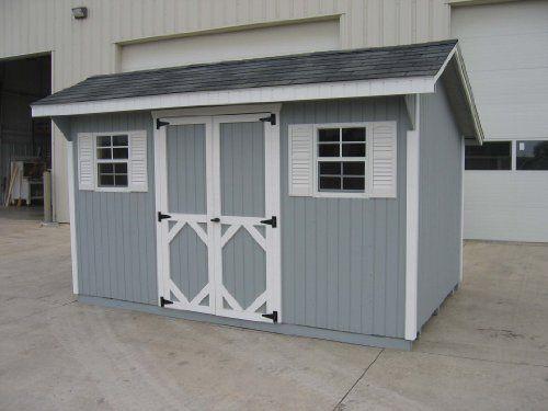 Little Cottage Company Classic Saltbox DIY Playhouse Kit, 8