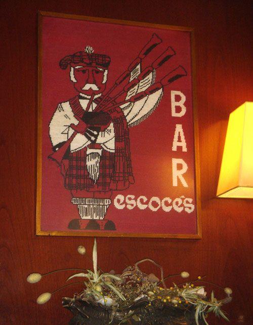 Bar Escoces. Calle Mandri.