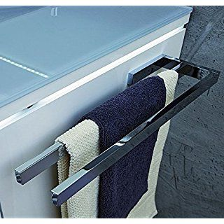 Puris Handtuchhalter Pz11281 Chrom Glanzend 39x3x11cm Handtuchhalter Handtuchhalter Bad Ohne Bohren Handtuchstange