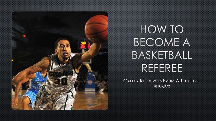 How to a basketball referee using these resources