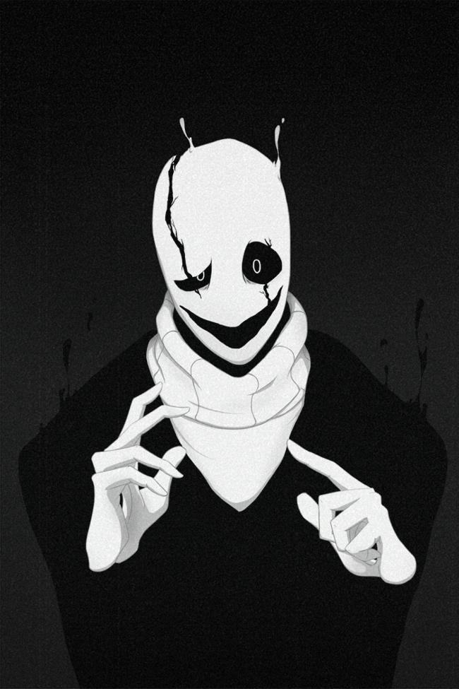 W.D. Gaster (Animated) by SmashWaffle on DeviantArt