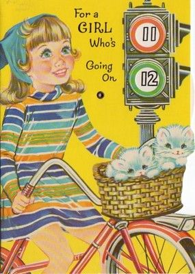 Vintage birthday card for 12 year old girl ca 1960si had that vintage birthday card for 12 year old girl ca 1960si bookmarktalkfo Images