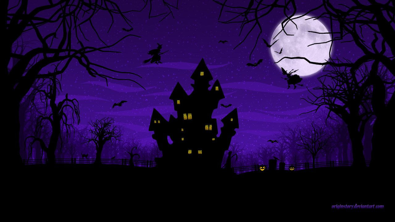 Wallpaper 'Spooky Halloween' by http//originstory