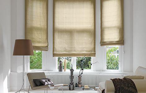dekorativ gefaltet das raffrollo wohnen garten inneneinrichtung pinterest raffrollo. Black Bedroom Furniture Sets. Home Design Ideas