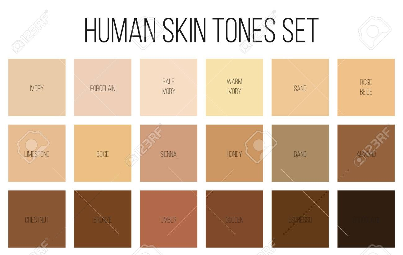 Image Result For Pale Skin Tone Palette