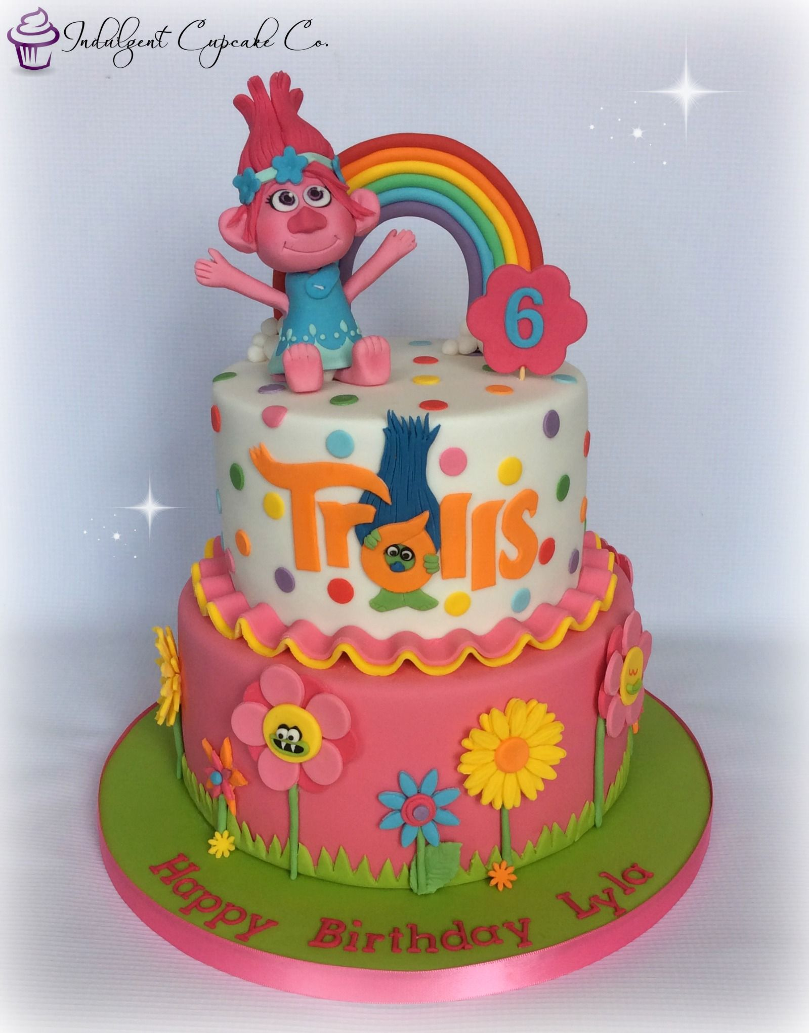 Princess Poppy Trolls Cake Trolls Birthday Cake Cool