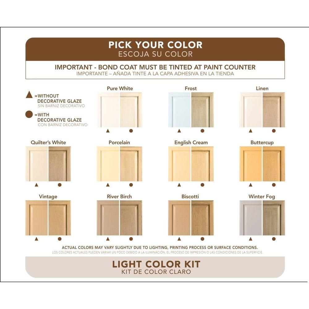 Rust-Oleum Transformations Light Color Cabinet Kit (9-Piece) 258109 at The  Home Depot - Mobile c166dd8e6