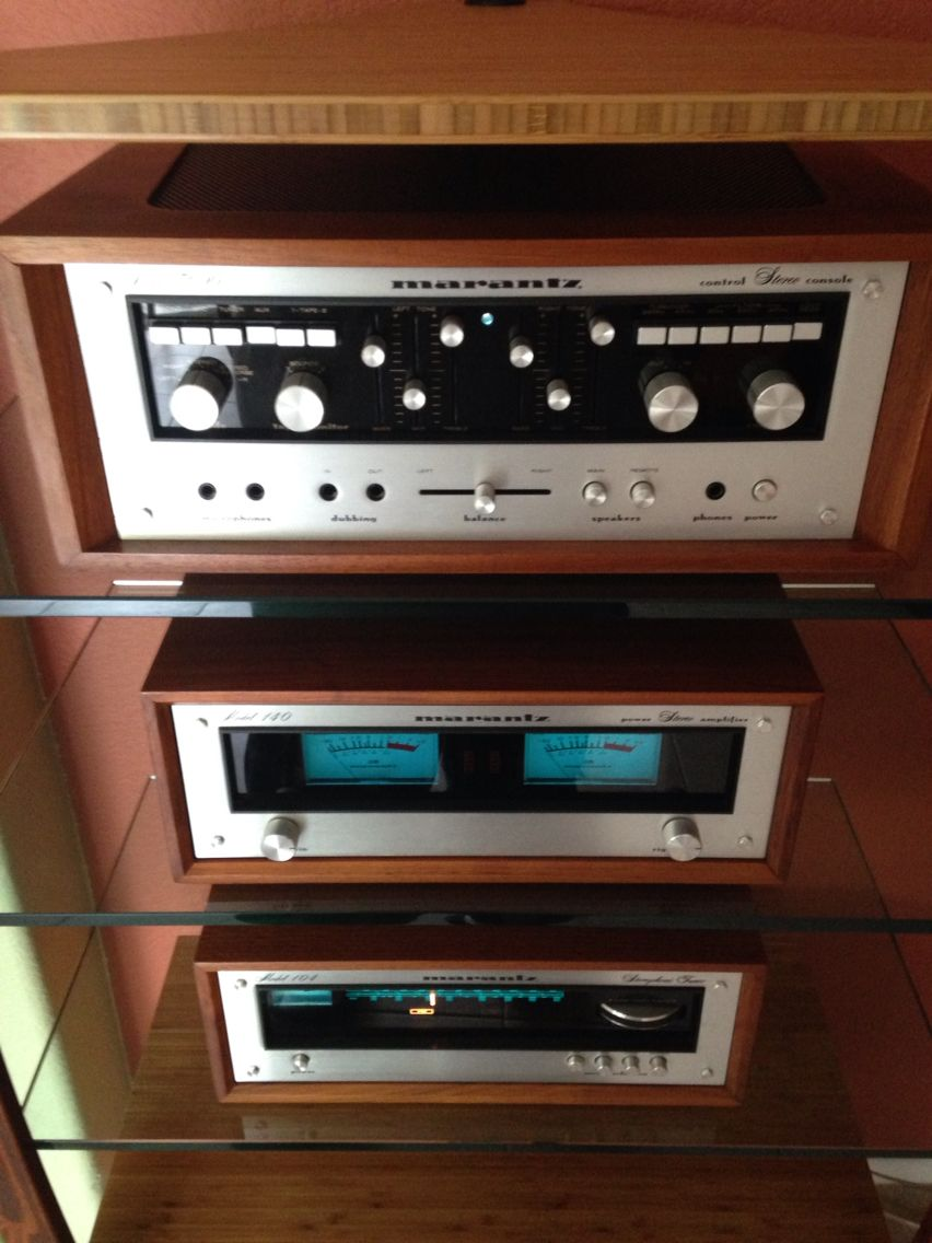 Marantz 140 Amplifier 3600 Pre Amplifier 104 Tuner Marantz Hifi Audio Tuner