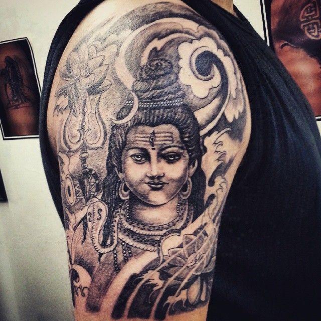 #sabbystattoostudio #tattooed #CUSTOM #tattooistartmag #indiantattoosartists #inked #religious #Shiva #tattooartistmagazine #tattoosinpune #tattooworkers #tattoosnob #instagram #tattoo