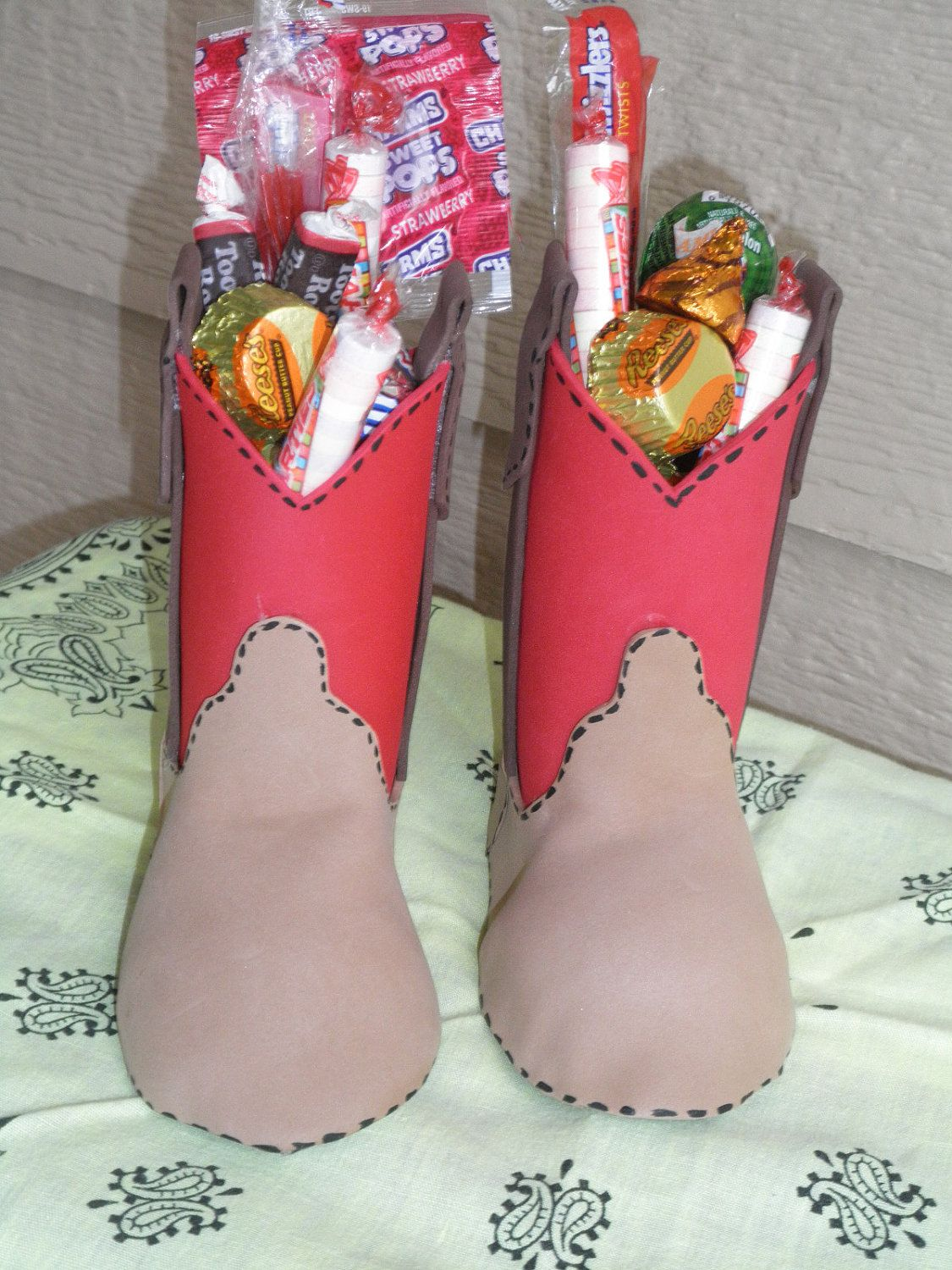 c458a8d48b0 MINI COWBOY BOOTS Goodie Bags.. $35.00, via Etsy. | Party Ideas ...