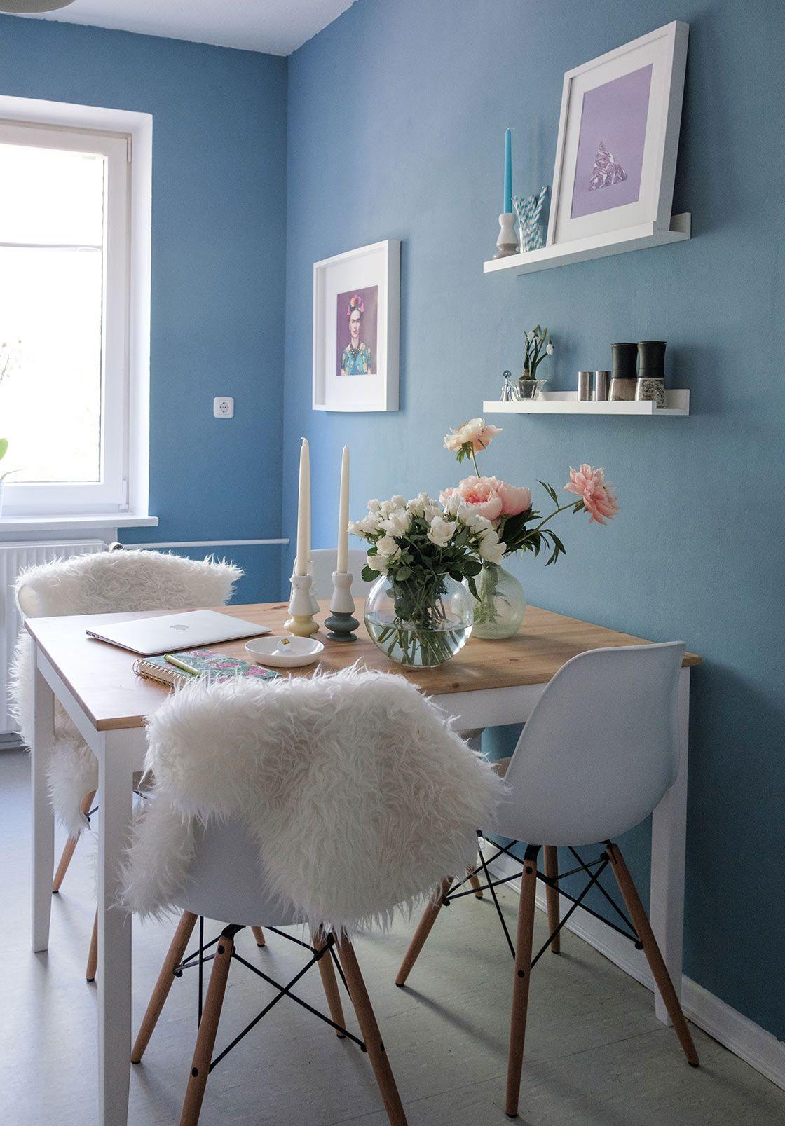 Schöner Wohnen Wandfarbe - WOHNKLAMOTTE #schönerwohnen