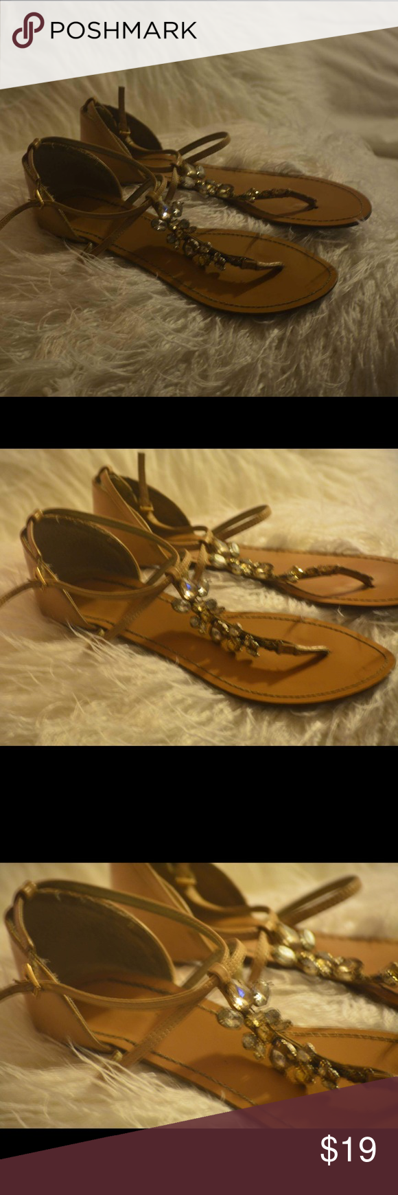 Original Guess sandals They are beautiful and have been used but great condition. I take great care of my items. Such a good deal 8.5 size Shoes Sandals