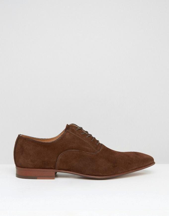 54b1f3e0 directo de fábrica Zapatos de hombre | ALDO Gwidol Zapatos de gamuza oxford  - Marrón Zapatillas
