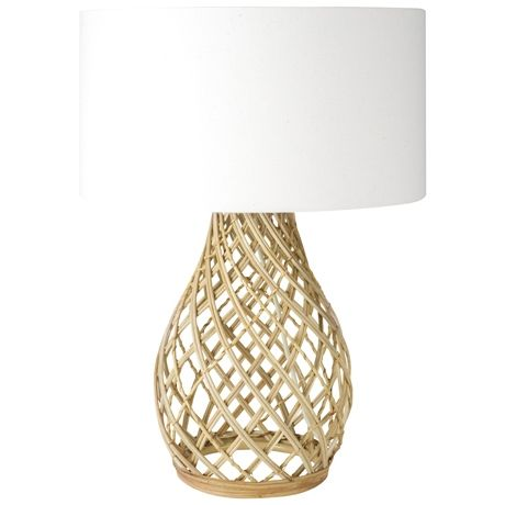 Twine Wicker Table Lamp 60cm $129 This Is An Option For The Master Bed (Just