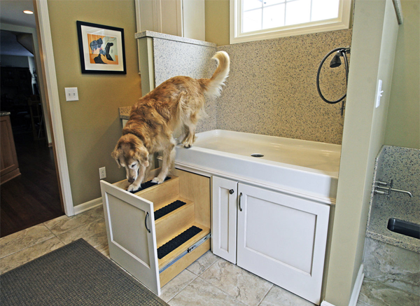 Pet Designs Dog Bath Shower Home Hatchett Design Remodel Virginia