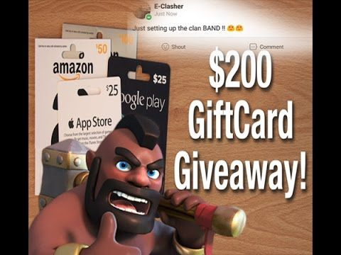 BAND Gaming app & Win $200 Gift Cards | Clash Of Clans | Game app