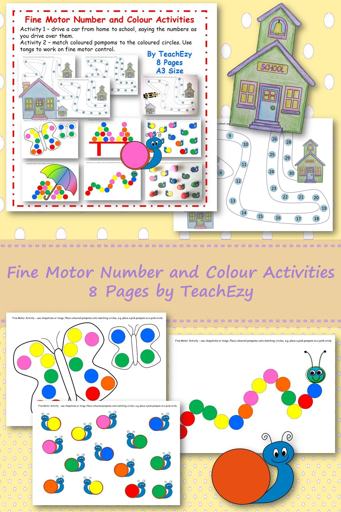 Work On Fine Motor Skills And Maths