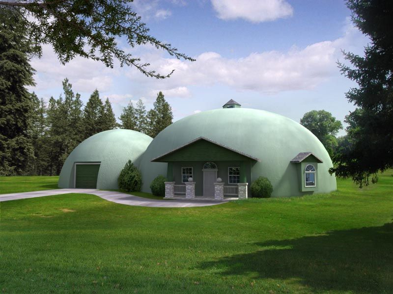 Dome Home Design Ideas: The Nearly Disaster-Proof Home. Great Idea For A Guest