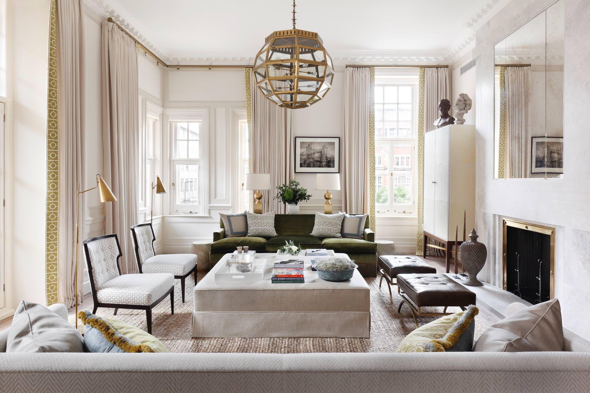 Albert Court Gallagher London Uk Classic Living Room Cla