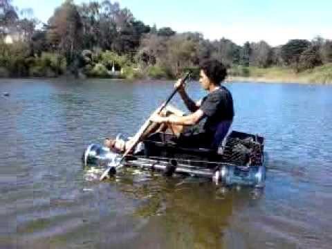 My Homemade Plastic Boat Water Craft Raft Plastic