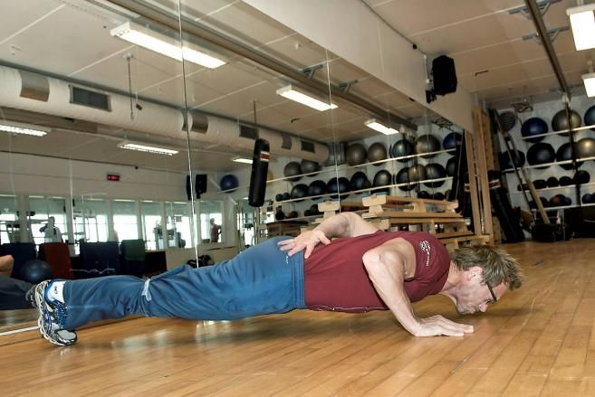 Push-ups, from two to one-hand