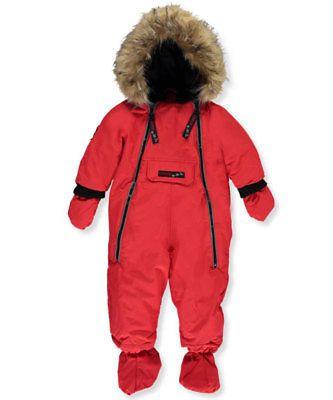 a1e3e6cc8 Outerwear 147202  Canada Weather Gear Baby Girls 1-Piece Snowsuit ...