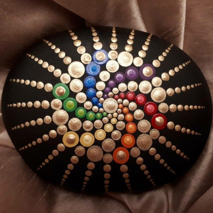 Photo of Painting stones and creating mandala pictures – 42 mystical examples #man …
