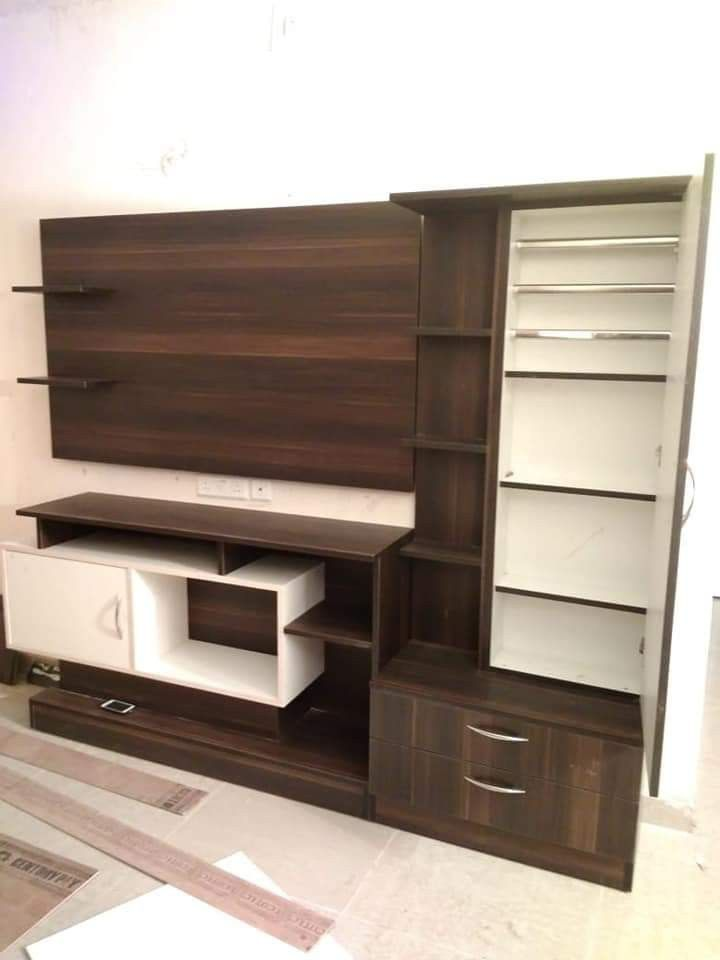 Wall Tv Unit Design Tv Unit: Pin By PANKAJ JANGIR On Dressing Table