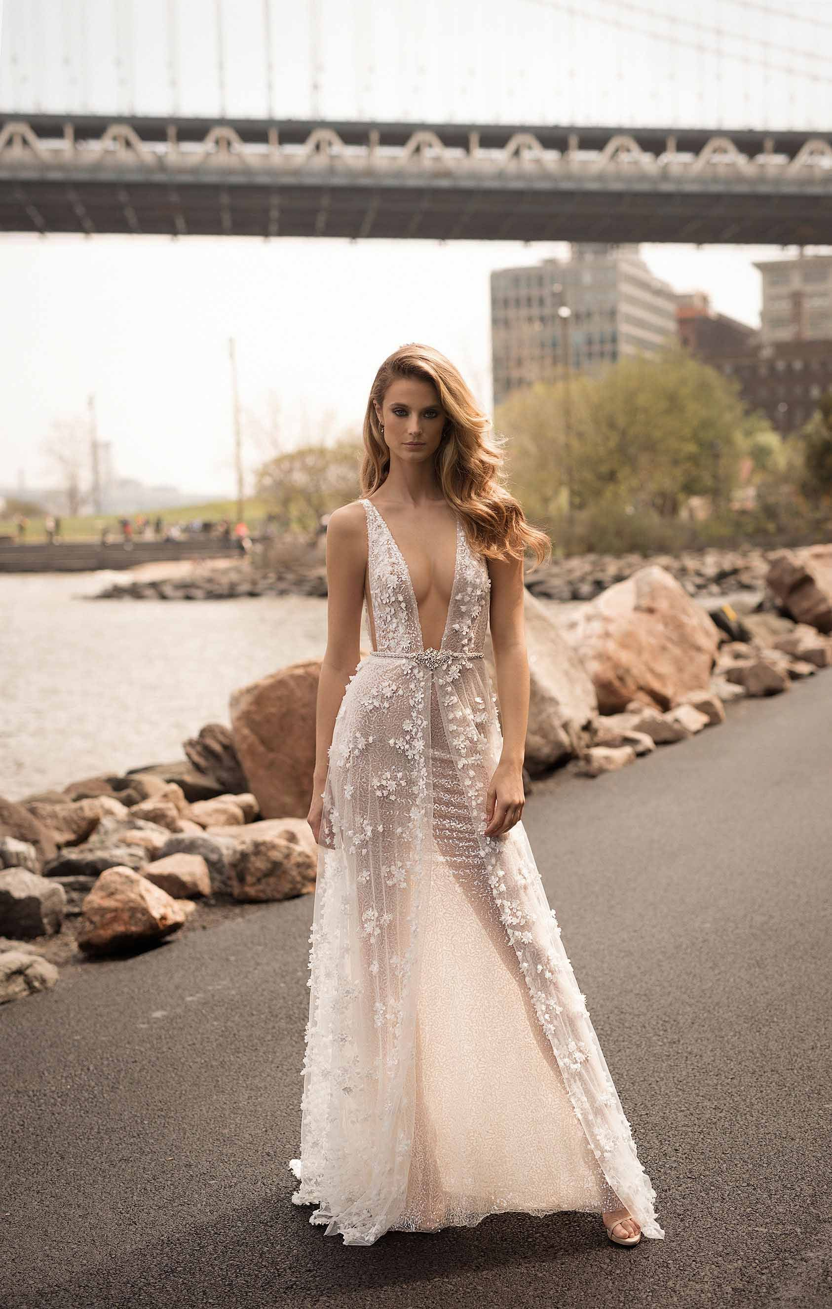 Latest berta wedding dresses spring collection dress look