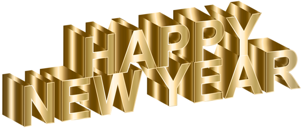gold happy new year clip art image happy new year png happy new year images happy new year text pinterest