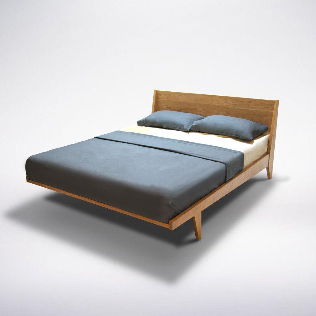 mid century modern platform bed madera pinterest modern