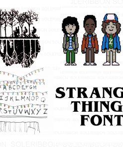 Stranger Things SVG Bundle Stranger Things SVG, Stranger