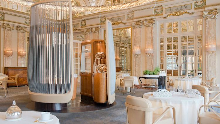 World Class French Restaurant Redesigned With Modern Twist On