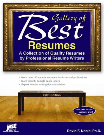 Gallery of best resumes  a collection of quality resumes by - best resume writers