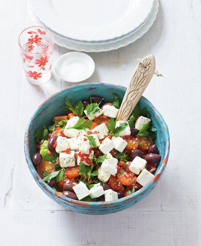 Scharfer Feta Salat