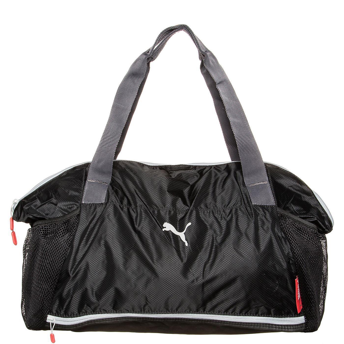 Athletic Workout Sporttasche Damen    Diese feminine Sporttasche überzeugt mit edler Optik sowie exzellenten Verstaumöglichkeiten. Sie eignet sich ideal für dein Training.    Das Hauptfach mit Zwei-Wege-Reißverschluss bietet genügend Stauraum für dein Equipment oder deine Klamotten. Die zwei großen Mesh-Steckfächer vorne können ideal für Flaschen oder Sonstiges genutzt werden. Das große Schuhfa...