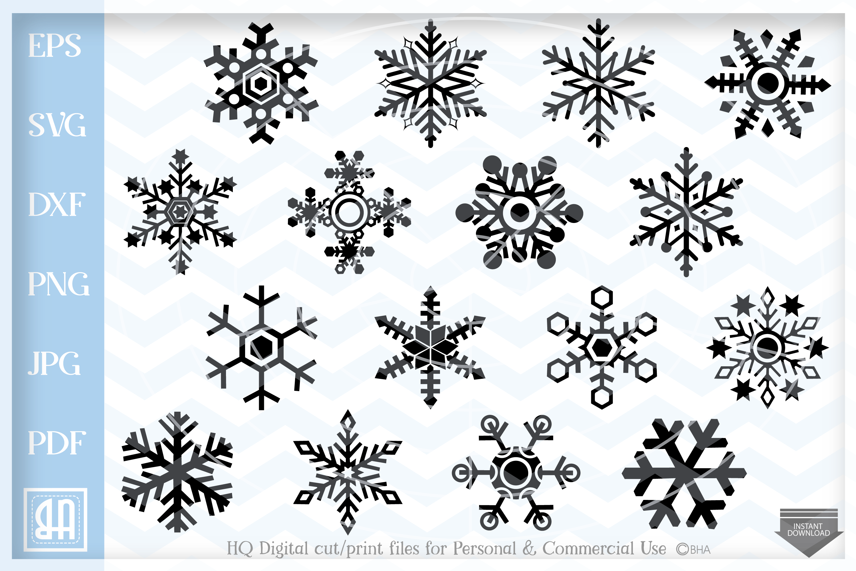 Snowflakes Svg Snowflake Svg Christmas Bundle Svg Example Image 1 Christmas Svg Winter Clipart Free Svg