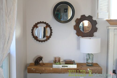 salvage yard mirrors how to make funky mirrors from a tire rim and