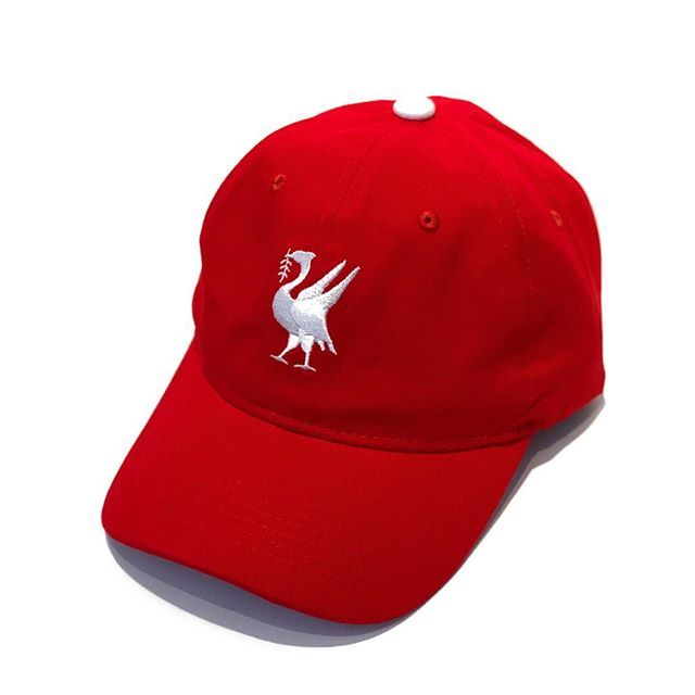 555ac352 The Liverbird Dad Cap Available Now | play | Dad caps, Cap, Baseball ...
