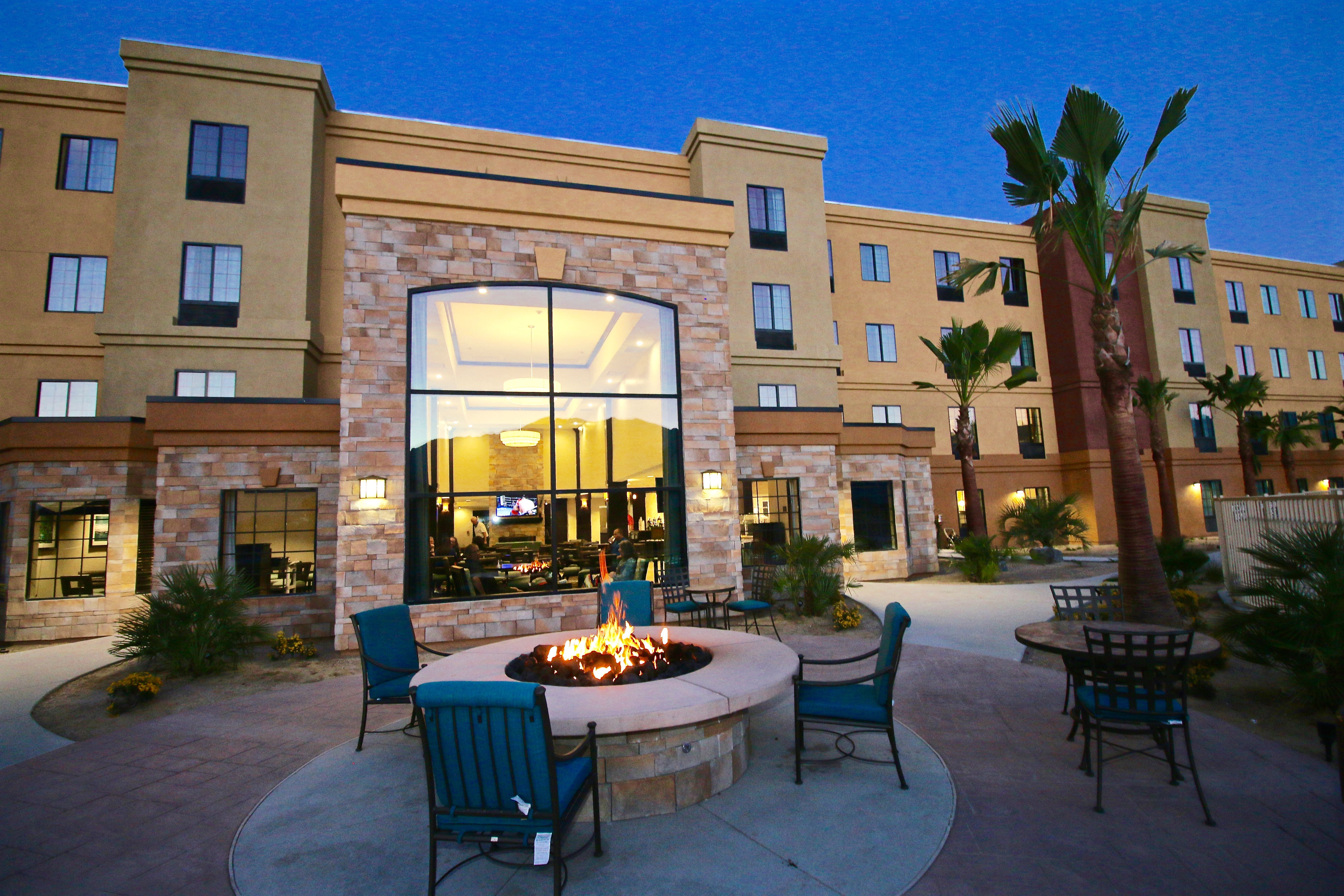 Official site of Staybridge Suites Cathedral City. Staybridge Suites offers  free breakfast, free internet, social evening receptions, a fitness room,  ...