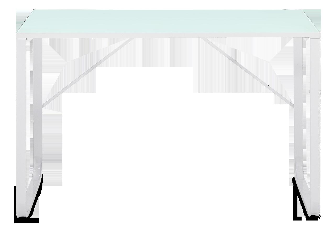 LUGE-tyopoyta, valkoinen murskan työpöytä