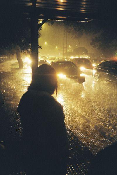 Raining Hard Love Rain Night Photography I Love Rain