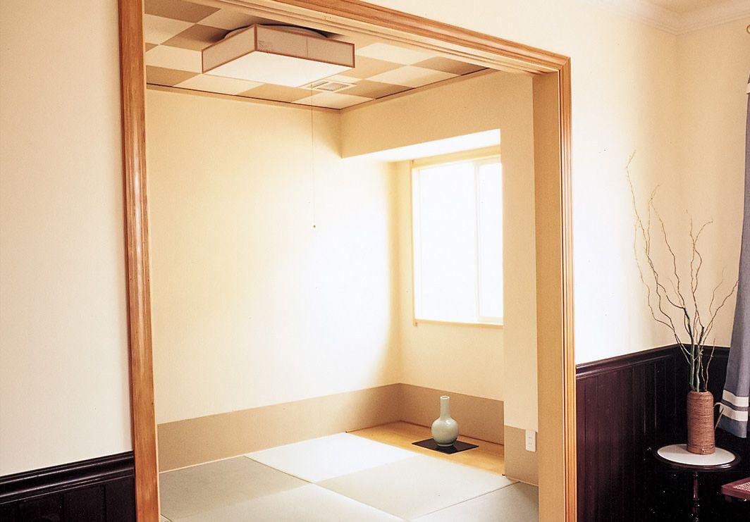 シンプルでありながらモダンな和室 トップメゾン 2020 和室