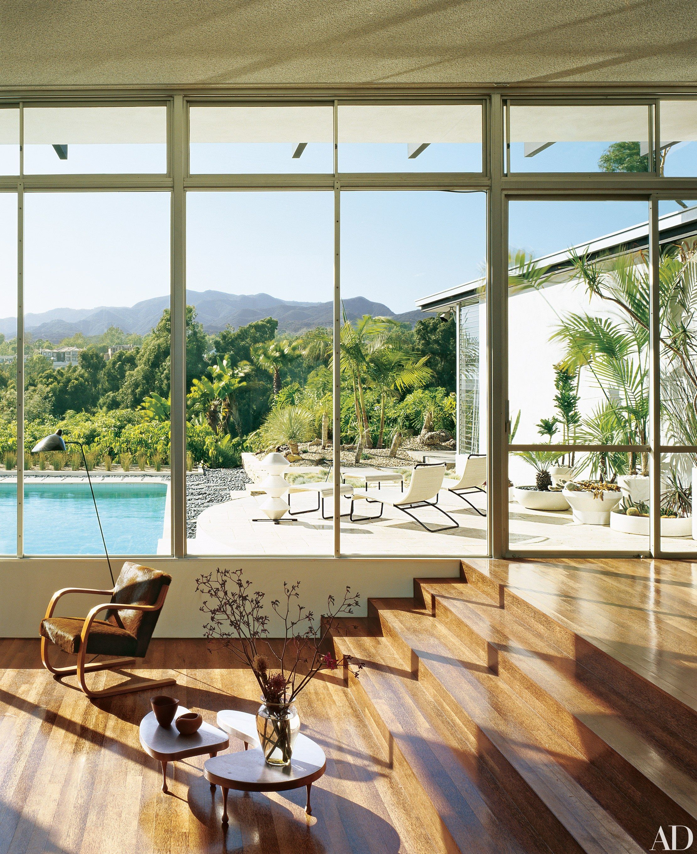 Pict mid century modern window shades 11 - 11 Mountainside Homes With Unbelievable Views