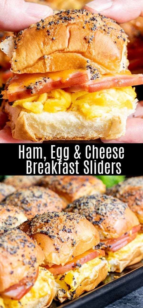 Ham Egg and Cheese Breakfast Sliders | Home. Made. Interest.