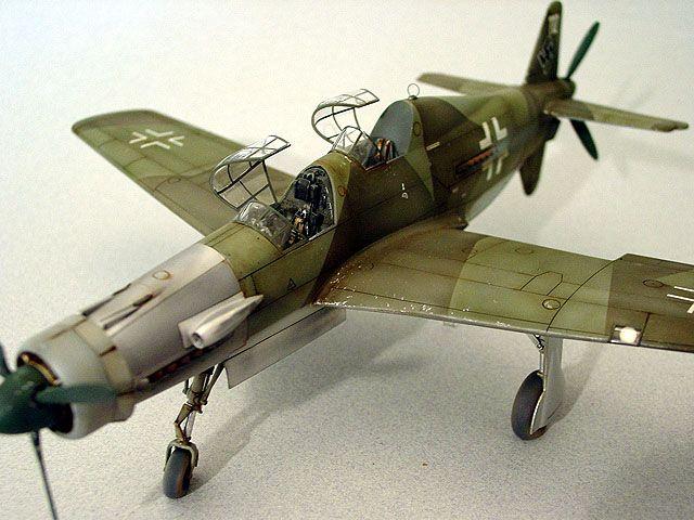 Dornier Do 335A-12 by Brian Criner (Tamiya 1/48)