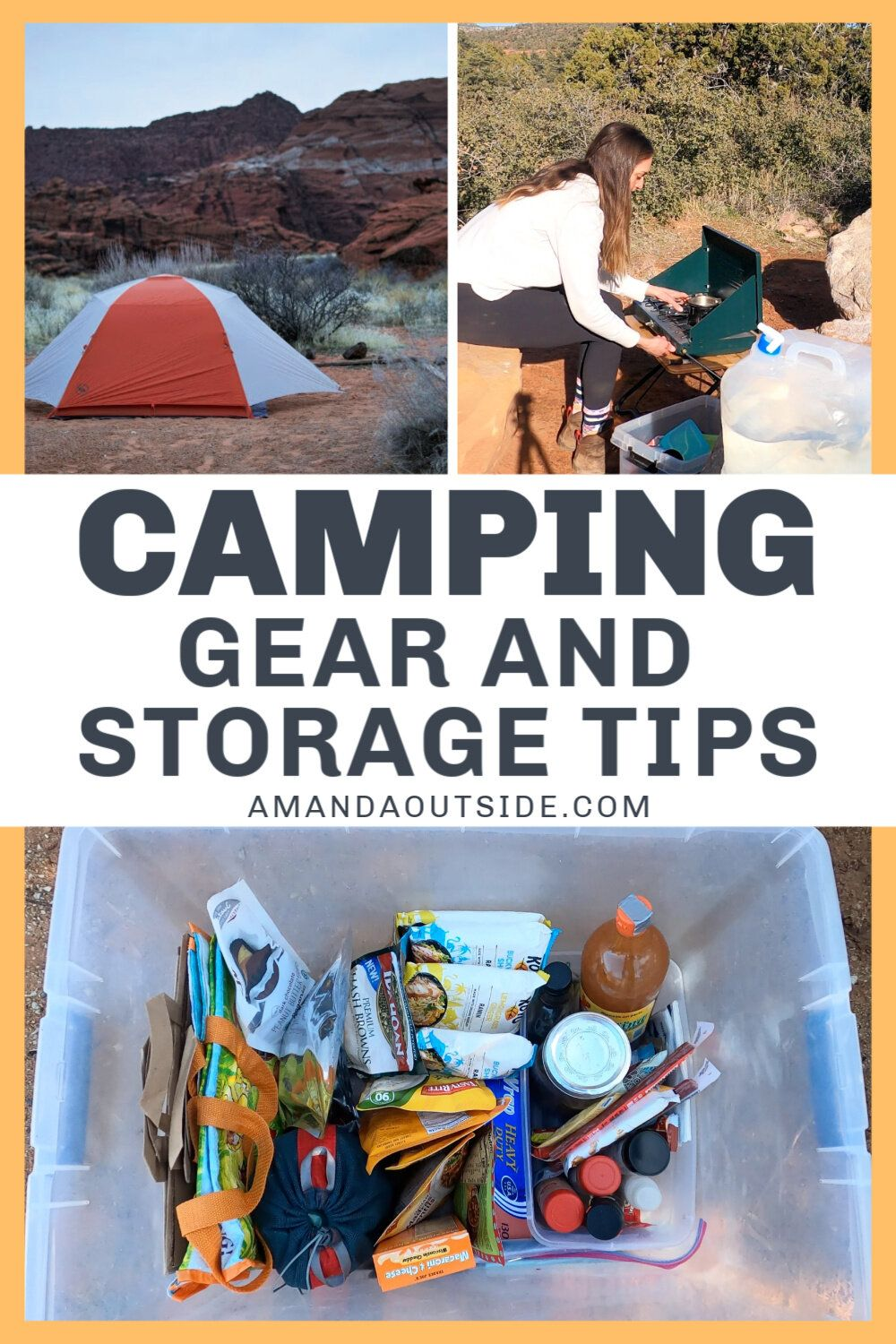 Photo of Car Camping Organization: Camp Gear Storage Tips and Hacks — Amanda Outside