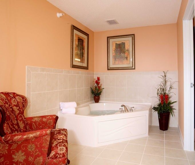 Our Bath Is A Great Way To Relax On Your Vacation Corner